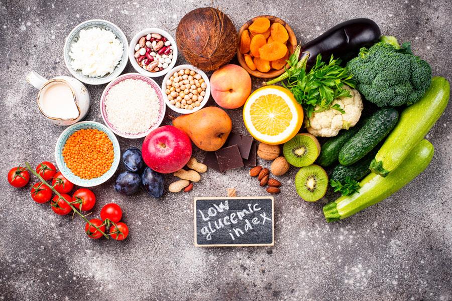 owoce i warzywa o niskim indeksie glikemicznym