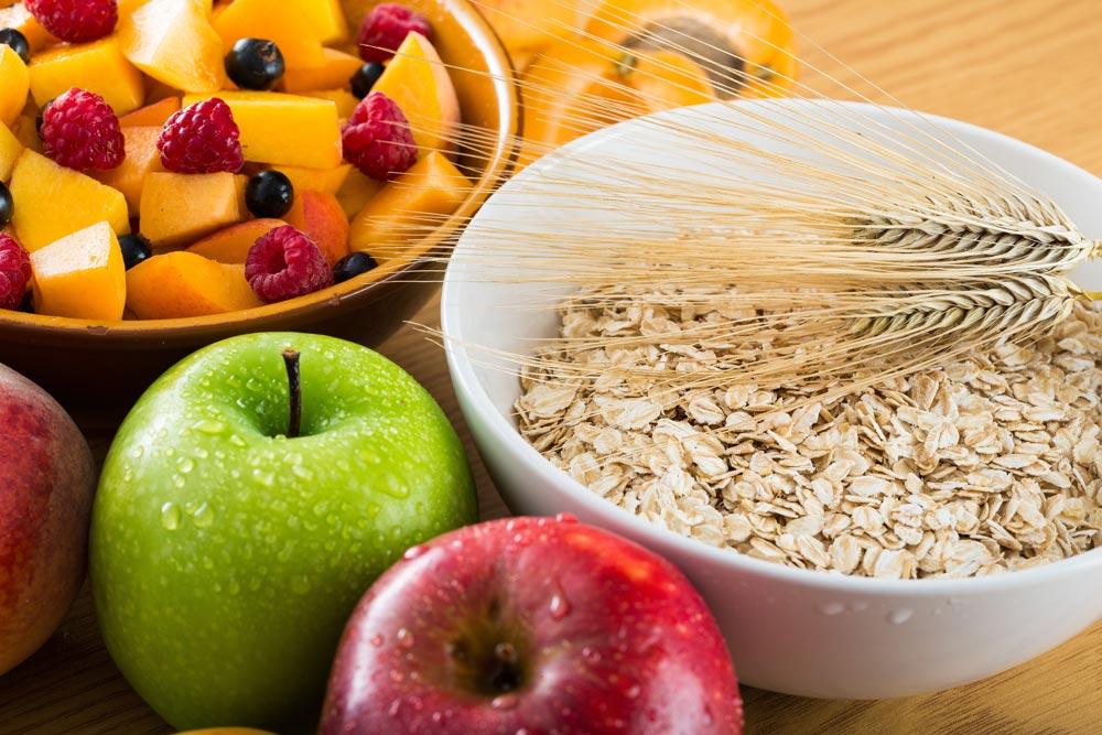 źródła błonnika w diecie
