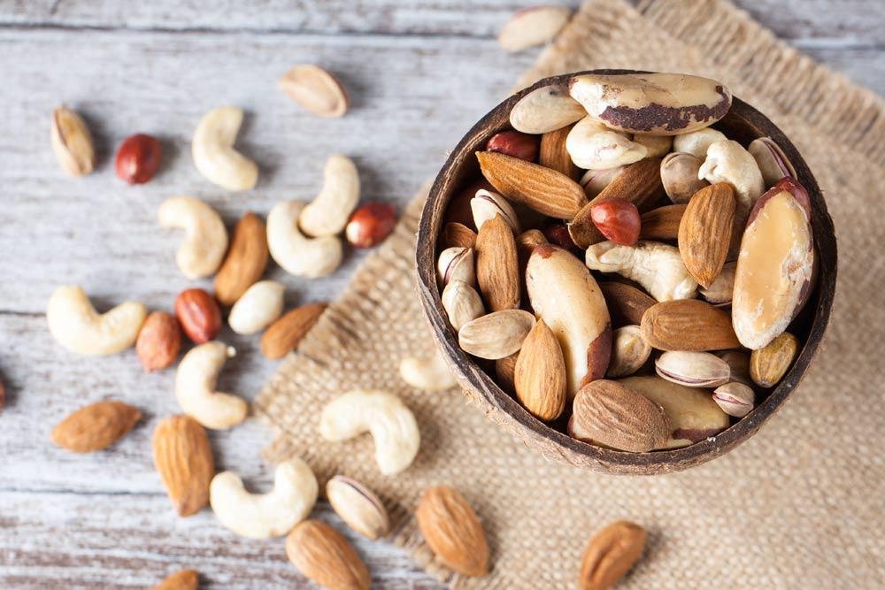 zdrowe orzechy w diecie